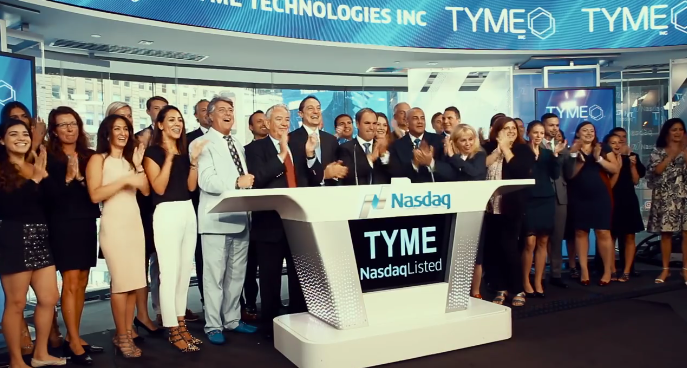 TYME Inc. at the Opening Bell at Nasdaq