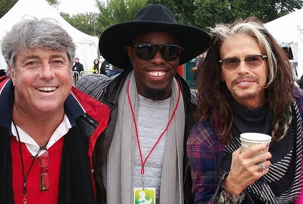 Steven Tyler and Stevie Wonder's Drummer Chris Johnson